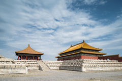 Forbidden city. A palace in forbidden city royalty free stock image