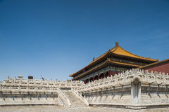 Forbidden city. A palace in forbidden city stock images