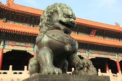 Forbidden city palace of Beijing Stock Images