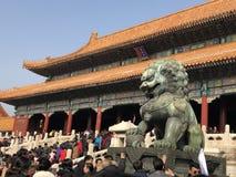 The Forbidden City palace stock photo
