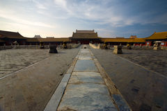 Forbidden City Palace Of Heavenly Purity. An empty Palace of Heavenly Purity  at the beautifully preserved Forbidden City in Beijing, China Royalty Free Stock Photo