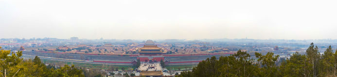Forbidden City (Palace Museum) Stock Images