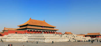 Forbidden City (Palace Museum) stock photography
