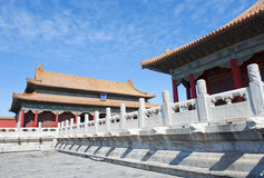 Forbidden City (Palace Museum) in Beijing, China Royalty Free Stock Images