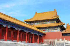 Forbidden City (Palace Museum) in Beijing, China Royalty Free Stock Image
