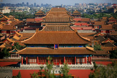 Forbidden City. In Pekin China Royalty Free Stock Image