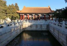 Forbidden City Peking, Kina Arkivbilder