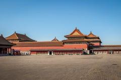 Forbidden City - Peking, Kina Royaltyfri Fotografi