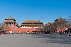 Forbidden City Plaza Royalty Free Stock Photography