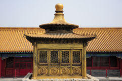 Forbidden City Prayer Shrine Royalty Free Stock Photos