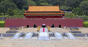 Forbidden city replica at splendid china folk village Royalty Free Stock Photos