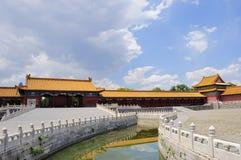 The Forbidden City  and  river Stock Photos