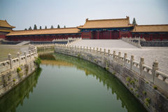 Forbidden City River royalty free stock photography