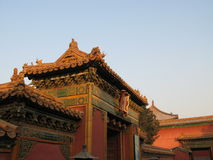 Forbidden City roof Royalty Free Stock Photography