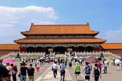 Forbidden city roof royalty free stock photos