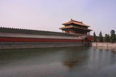 Forbidden City`s moat stock image