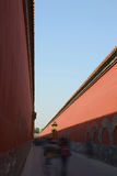 The forbidden city's walls Stock Photography