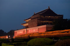 Forbidden City southern gate Royalty Free Stock Photography