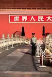 Forbidden City southern gate Stock Photos