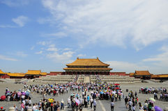 Forbidden City square Stock Photo