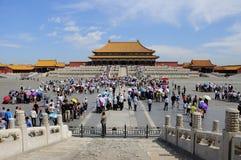 The Forbidden City square Stock Photos