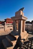 Forbidden City Sundial Stock Photos