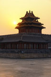 The Forbidden City at sunrise Stock Photo