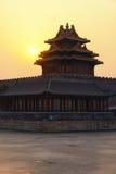 The Forbidden City at sunrise Stock Photo