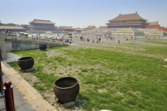 Forbidden city temple, Beijing. Royalty Free Stock Image