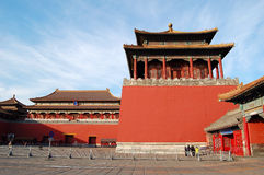 Forbidden city, ticket office Royalty Free Stock Images