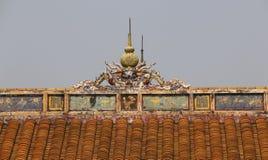 Forbidden City ton, Vietnam askfat Fotografering för Bildbyråer