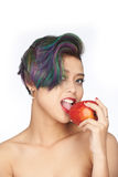 Forbidden fruit Stock Images