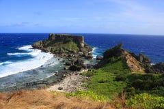 Forbidden Island Saipan royalty free stock photo