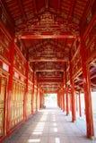 Forbidden Purple City, Hue, Vietnam stock image