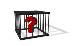 Forbidden questions Royalty Free Stock Image