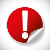 Forbidden sign icon image Stock Image