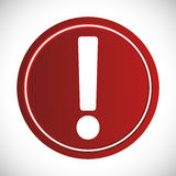 Forbidden sign icon image Stock Photo