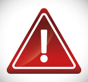 Forbidden sign icon image Royalty Free Stock Image