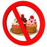 Cupcakes Forbidden Stock Images