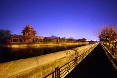 Forbiddenet City Arkivfoton