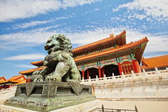 Forbiddenet City Fotografering för Bildbyråer