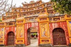Forbiddenet City på tonen, Vietnam Royaltyfri Foto