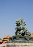 Forbiddenet City - Peking, Kina Royaltyfri Bild