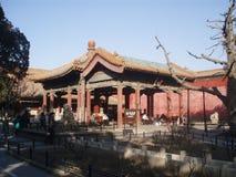 Forbiddenet City, Peking, Kina Arkivbilder