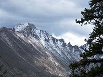 Forbidding Peaks in Storm Royalty Free Stock Images