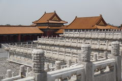 Forbitten stad - Peking royaltyfri fotografi