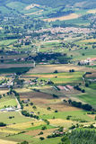 Forca Canapine (Umbrië) Stock Afbeeldingen