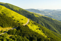 Forca Canapine (Umbria) Stock Photos
