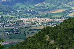 Forca Canapine (Umbria) Stock Photography