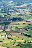Forca Canapine (Umbria) Arkivbilder